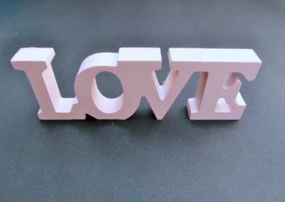 LOVE-Polistirolo